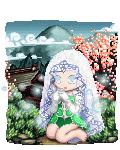 dark cherry blossom angel