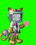 pink robotic techno kitty