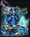 furry blue fox