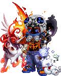 blue killer demon