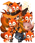 Parade of the Tall Foxes
