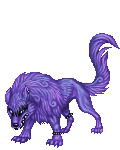 Cyan Lycanthrope