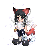 i iz a white wolf