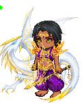 purple chibi demon