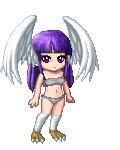 Cold winter angel