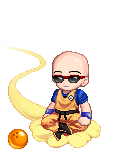 Krillin With Glasses